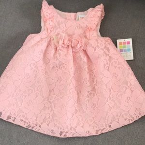 BRAND NEW Baby Girl Lace Flower Dress